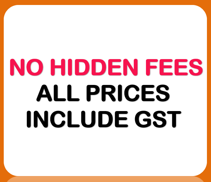 no hidden fees from Sydney projector hire